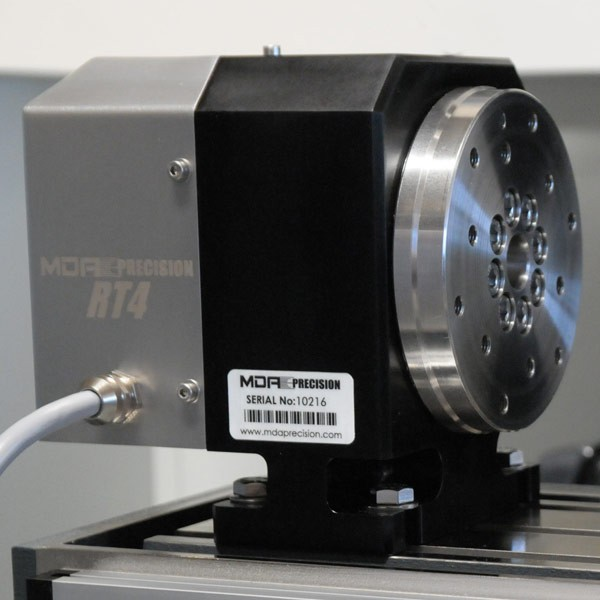 Rt4 5 rotary table mda precision for Cnc rotary table with stepper motor