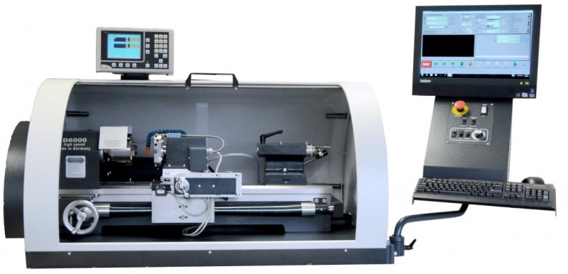 CC-D6000Ehs High Speed Benchtop CNC Lathe with Tool Turret