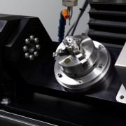 MDA Precision TN4 Trunnion Table mounted on TN5-V8-TC8