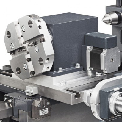 tool turret on MDA Precision Lathe